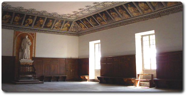 The hall of the General Chapter